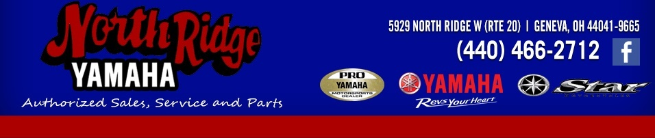 North Ridge Yamaha header logo